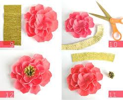 crepe paper flowers diy crepe paper flowers oh my handmade