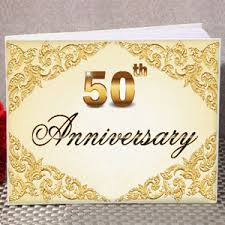 anniversary guest book 50th anniversary guest book guest books pen sets signature