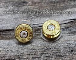 bullet stud earrings gold bullet stud earrings