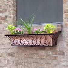 window boxes u0026 wall mount planters signature hardware
