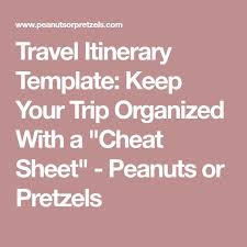the 25 best travel itinerary template ideas on pinterest