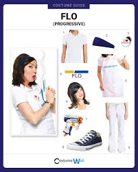 Flo Dress Like Flo Costume Halloween And Cosplay Guides