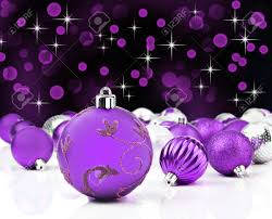 purple decorative ornaments with background stock