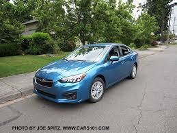 2017 subaru impreza sedan blue 2017 subaru impreza 4 door sedan exterior photos page