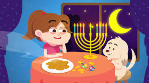 my hanukkah 9 candles in my hanukkah menorah hanukkah song for kids