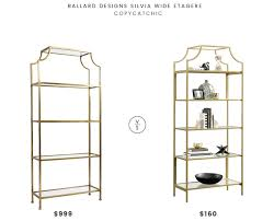 Ballard Bookcase Daily Find Ballard Designs Silvia Wide étagère Copycatchic