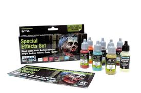 special effects set and painting guide by angel giraldez vallejo