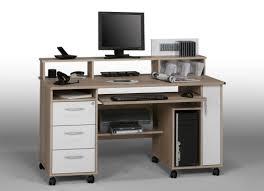 bureau avec rangement imprimante meuble rangement bureau beau bureau avec imprimante rangement