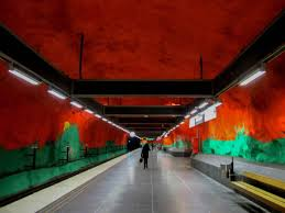 amazing stockholm subway art memoirs of a globetrotter travel blog