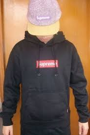 supreme blue box logo hoodie real on the hunt