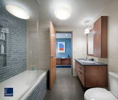 crystal blue bathroom contemporary with glass shower enclosure