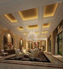 Living Room Lighting Inspiration by Luxury Villa Living Room Ceiling With Lighting Ideas For Your