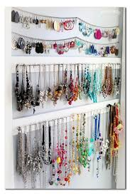 necklace storage organizer images Simple jewelry organization jewellery organization png