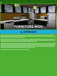 furniture mods for minecraft pc on the app store