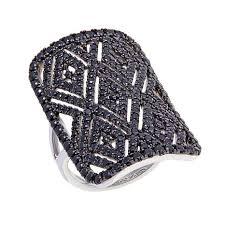 rarities fine jewelry with carol brodie 2 37ctw black spinel art