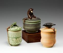Animal Pots by Functional Sculpture By Carolyn Dilcher Stutz