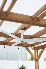 Pergola Ceiling Fan by Our Outdoor Fan An Experiment Room For Tuesday Blog