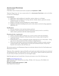 best journeymen electricians cover letter facebook 2016 annual report