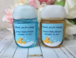 rubber ducky baby shower favor labels yellow duck baby shower