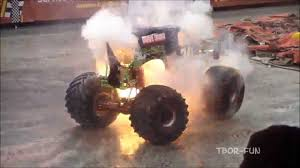 rc monster truck grave digger best of monster truck grave digger jumps crashes accident