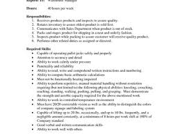 warehouse auditor sample resume resume warehouse unforgettable
