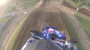 motocross races in ohio battle for ohio round 3 briarcliff mx atv vet moto 2 helmet cam