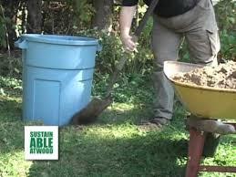 Backyard Composter Diy Backyard Pet Waste Digester Youtube