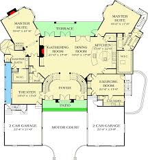 dual master bedroom floor plans dual master suites 17647lv architectural designs house plans