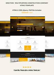 construction multipurpose html5 template by unicoder