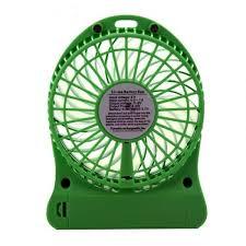 rechargeable fan online shopping portable mini rechargeable fan green 2naira shop
