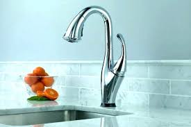 touch faucet kitchen touch sink faucet in the kitchen delta touch faucet water trickles
