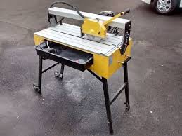sliding table tile saw professional table flat bed bridge sliding tile saw cutter