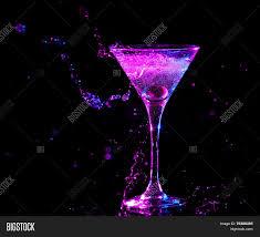 colourful cocktail on black image u0026 photo bigstock