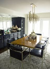 luxurious dining room makeover popsugar home