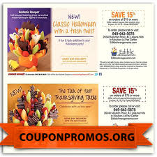 Halloween Coupons Printable by Free Printable Edible Arrangement Coupon October 2017