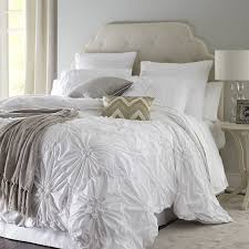 bedroom beautiful white duvet cover with decorative luxury