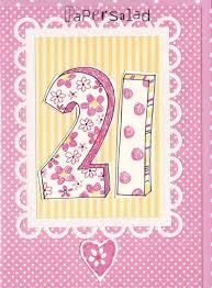 21 Birthday Card Design Dotty 21st Birthday Card Karenza Paperie