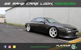 nissan silvia nissan silvia s14 platinum wheels