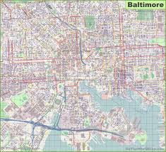 Baltimore Map Usa by Baltimore Maps Maryland U S Maps Of Baltimore
