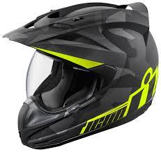 carbon fiber motocross helmet icon variant deployed helmet revzilla