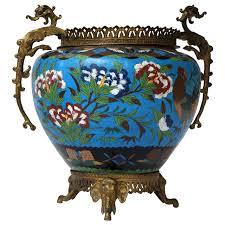 Planter Pot Large Chinese Cloisonné Jardinière Or Planter Pot For Sale At 1stdibs