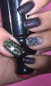 halloween nail art challenge halloween themed tv or movie cool