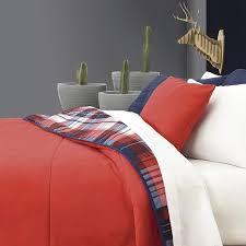 Plaid Bed Sets Plaid Bedding Set Rerversible To Guarantee Vianney Home Decor