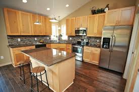 what paint colors look best with maple cabinets how to modernize your kitchen with maple cabinets