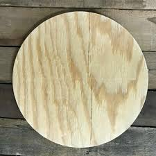 how to stain unfinished pine wooden pine cutout circle unfinished wood shape