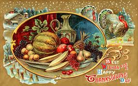Thanksgiving Vintage Vintage Happy Thanksgiving Postcard Gutierrez Hubbell House