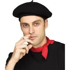 barret hat black beret hat accessory walmart
