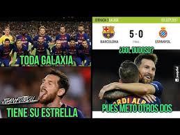Memes De Messi - memes barcelona vs espanyol 5 0 hat trick de messi y debut de