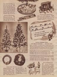 Artificial Decorative Trees For The Home Artificial Christmas Trees A Vintage Catalog Extravaganza