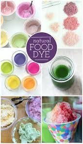 natural food dye alternatives